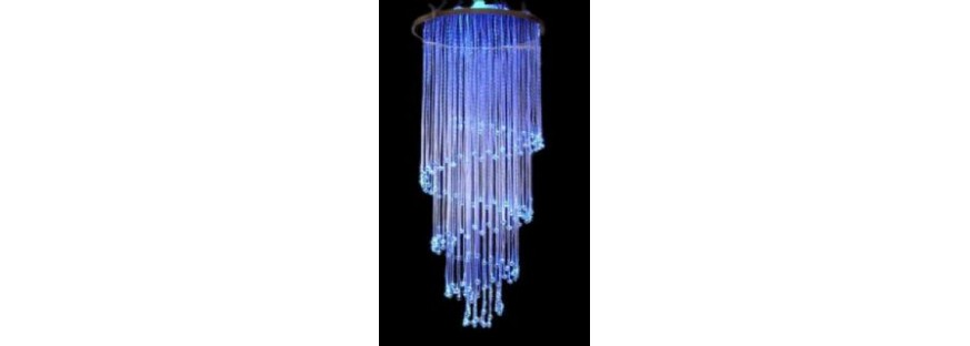 Fiber Optic Chandeliers